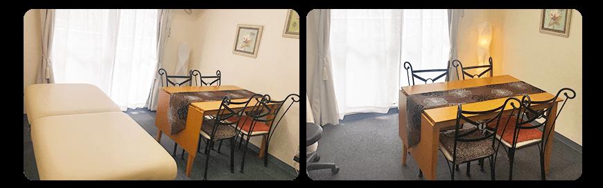 新宿 レンタルサロン レンタルルーム ソロラ 1号室 1006号室 内観